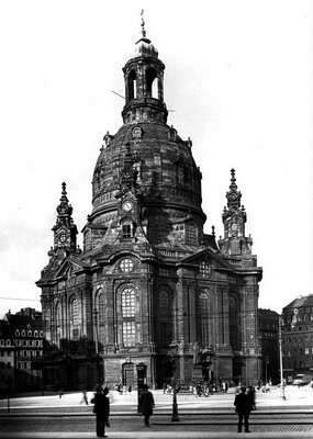 Frauenkirche, Dresden, 1930