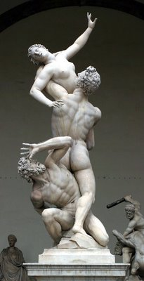 Giambologna, Rape of the Sabine Woman