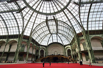 Nave of the Grand Palais, Paris