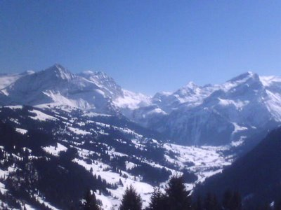 Gstaad Valley, Swiss Alps