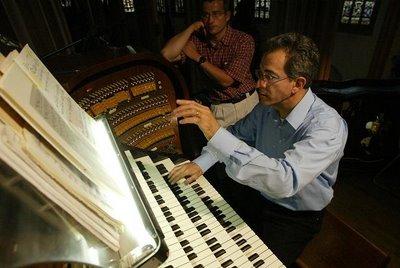 Naji Hakim, organist