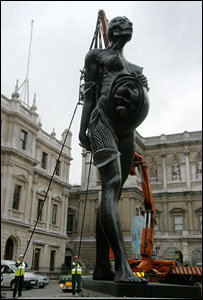 Damien Hirst, Virgin Mother, Royal Academy of Arts, London, 2006