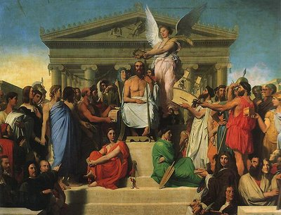 Ingres, Apotheosis of Homer