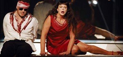 Susan Graham in Iphigénie en Tauride, Opéra national de Paris, directed by Krzysztof Warlikowski, 2006
