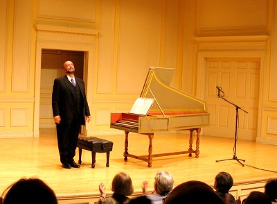 Jacques Ogg, harpsichordist, Library of Congress, Coolidge Auditorium, May 5, 2006