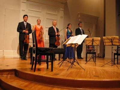 Jupiter Quartet with Roger Tapping, Corcoran Gallery of Art, October 21, 2005
