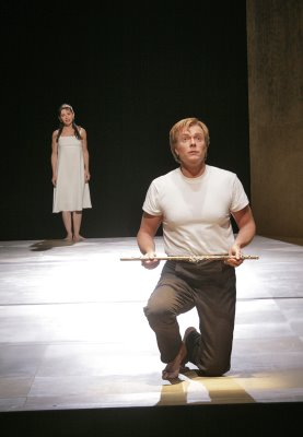 Natalie Dessay as Pamina and Toby Spence as Tamino, 'Tamino mein', The Magic Flute, Santa Fe Opera, photo by Ken Howard &#169; 2006