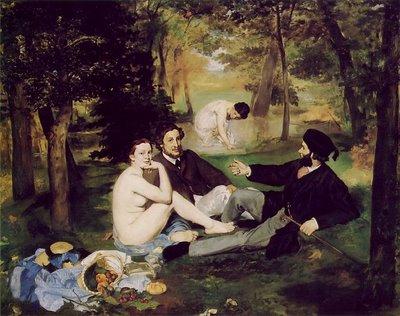 Manet, Le Déjeuner sur l'herbe, 1863, Musée d'Orsay