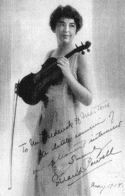 Maud Powell, 1867-1920