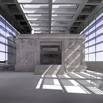 New Museo dell'Ara Pacis, designed by Richard Meier, opened April 2006