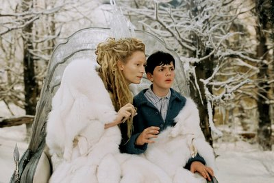 Tilda Swinton and Skandar Keynes, Chronicles of Narnia