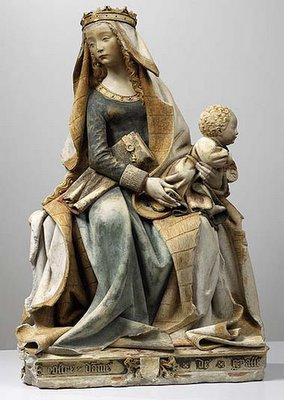Nostre-Dame de Grasse, 15th century, Musée des Augustins, Toulouse
