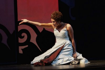 Bronwen Forbay as Orasia, Orpheus, Wolf Trap Opera, 2006, photo by Carol Pratt