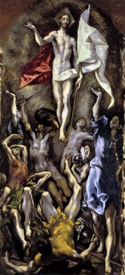 El Greco, The Resurrection, 1596-1600, Museo del Prado, Madrid