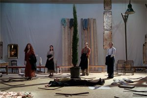 Scarlatti, Cain overo Il Primo Omicidio, directed by Bruno Meyssat, Opéra national de Lyon, 2006, photograph by Franchella/Stofleth