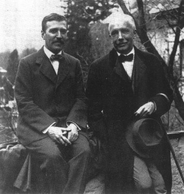 Hugo von Hofmannsthal and Richard Strauss, c. 1915