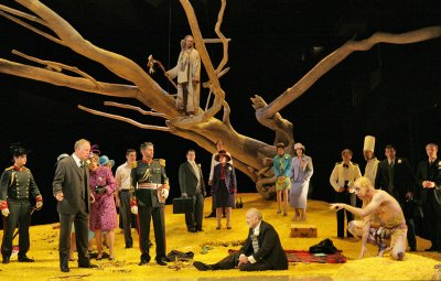 The Tempest, Santa Fe Opera, set and costumes designed by Paul Brown, photo by Ken Howard © 2006