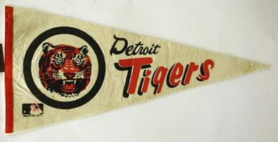 Detroit Tigers pennant