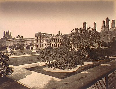 Palais des Tuileries, Paris, 1871, historical photograph in the Charles Deering McCormick Library, Northwestern University