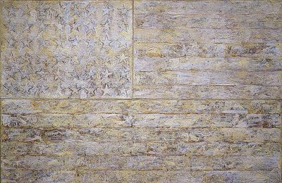 Jasper Johns, White Flag, 1955, Metropolitan Museum of Art