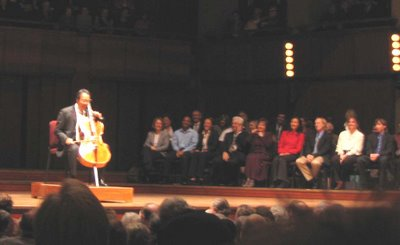 Yo-Yo Ma, Kennedy Center Concert Hall, April 4, 2006