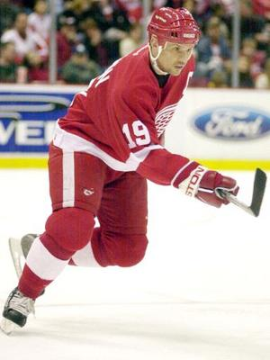 The Captain, Steve Yzerman