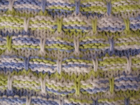 Knitted Dishcloth Patterns For Variegated Yarn : Knitted dishcloth Swakrta
