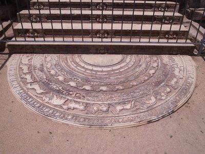 Moonstone, Anuradhapura