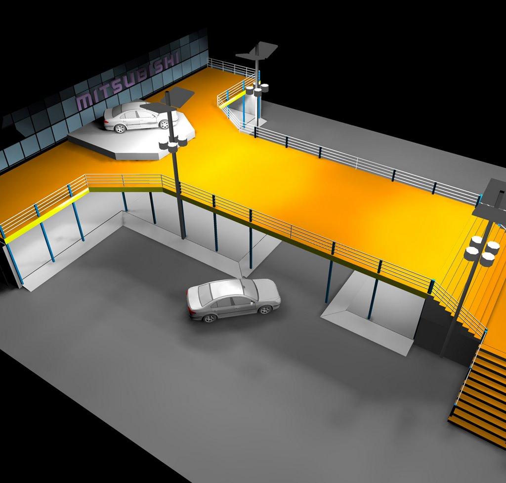 Exhibition Stand Lighting Australia : Lighting projects siteco antara lighting design mitsubishi