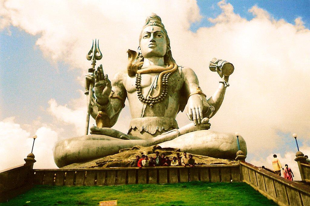 Lord Shiva Statue Ganges Huge Lord Shiva Statue