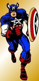 Captain Alef :: mostly drawn by Jack Kirby, (c) ???
