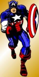 Captain America :: created by Joe Simon & Jack Kirby, drawn by Jack Kirby, (c) Marvel Comics