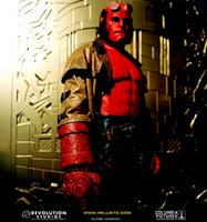 Hellboy and I had the same forehead