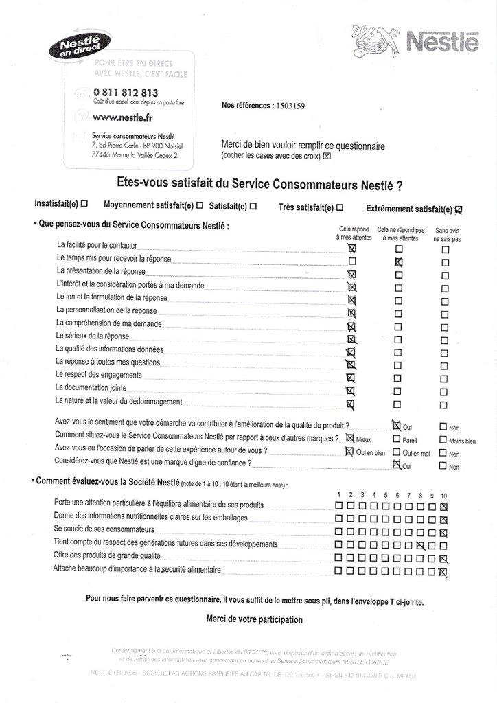 de service 224 la client 232 le exemple questionnaire de satisfaction magasin 28 images partie