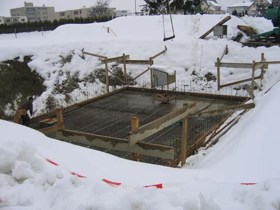 Hausbau Hochdorf Ein Haus Wird Gebaut