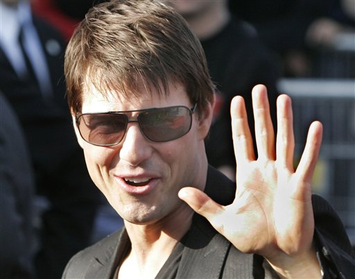 Tom Cruise: he did not dine on TomKat placenta.
