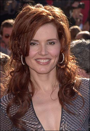 The sexy Geena Davis somehow didn't cut it as the leader of the free world.
