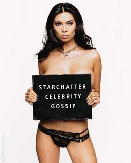 Tera Patrick Nude -- and plugging StarChatter to boot!