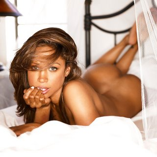 Stacey Dash poses or Playboy
