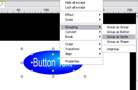 how to create buttons in animate cc