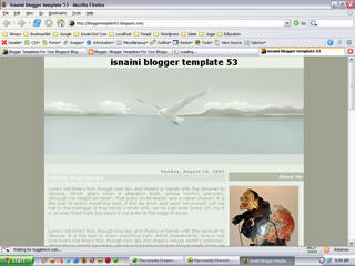 Free Blogger Template Fly