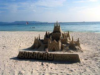 sand castle, Apr 5, 2006
