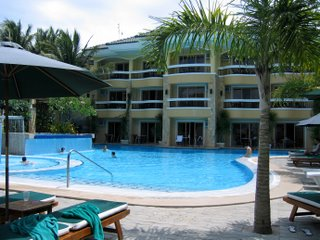 Swimming pool, Boracay Regency