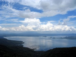 Taal Lake, Tagaytay City, May 2005