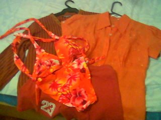 orange items