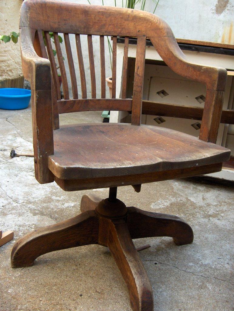 Fauteuil de bureau americain fauteuil americain en bois - Fauteuil de jardin en bois style americain ...