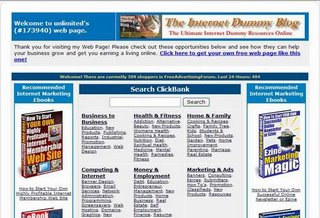 Free ClickBank Website