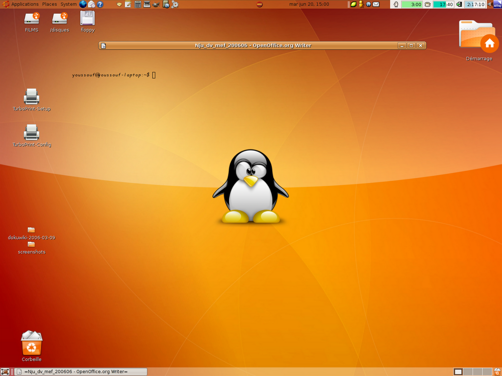 Interfaces graphiques - Environnement bureau linux ...
