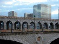 Pont de la Gare vor der Nationalbibliothek