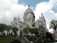 Der imposante, aber irgendwie nicht so richtig schöne Bau Sacré-Cœur.